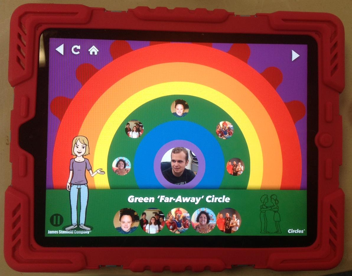 Circles App - Social Boundaries and Relationships