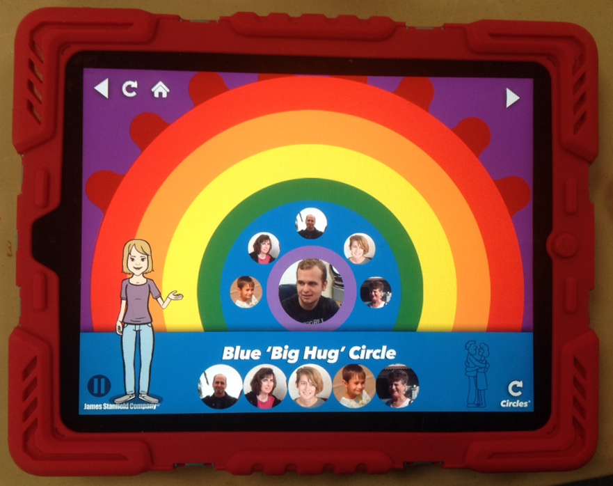 personal space and social boundaries app for special needs